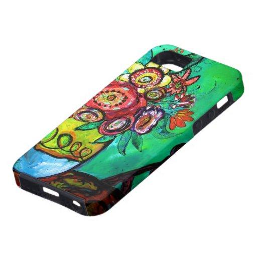 Ramo del jardín iPhone 5 Case-Mate cobertura