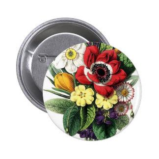Ramo del vintage, flores pin