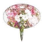Ramo en la colección clara del florero decoración de tarta