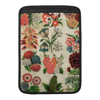 Ramo floral antiguo elegante hermoso fundas para macbook air