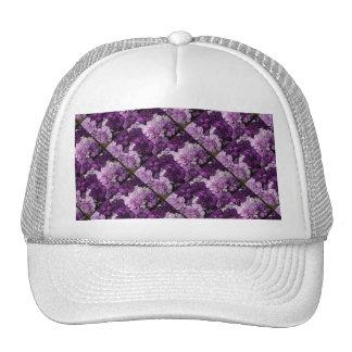 Ramo floral de los claveles púrpuras