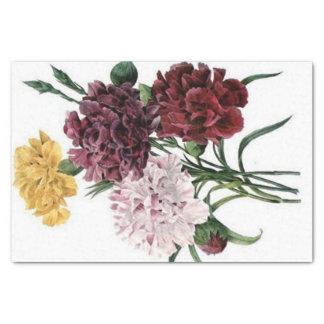 Ramo floral del vintage papel de seda pequeño