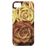 Ramo floral descolorado hermoso del vintage de los iPhone 5 Case-Mate carcasa