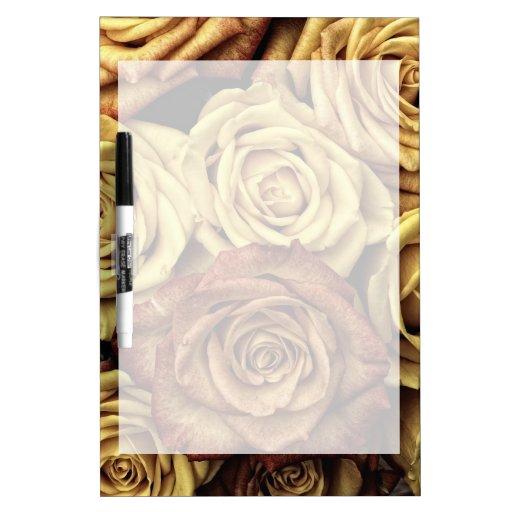 Ramo floral descolorado hermoso del vintage de los pizarra