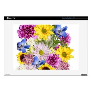 Ramo floral elegante portátil calcomanía