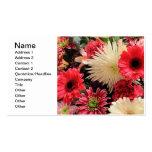 Ramo floral mezclado tarjetas personales