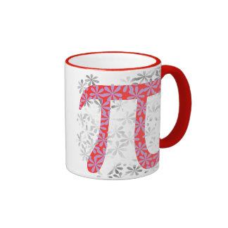 Ramo floral pi taza de dos colores