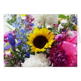 Ramo floral tarjeton