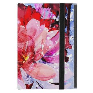 Ramo hermoso de flores iPad mini cárcasa