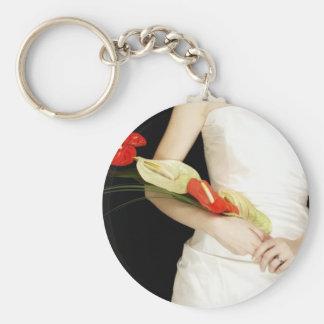 Ramo inusual del boda llaveros personalizados