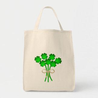 Ramo irlandés del boda bolsa tela para la compra