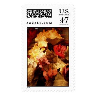 Ramo mezclado timbre postal