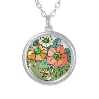Ramo multi de la flor pendientes personalizados