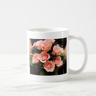 Ramo nupcial taza de café