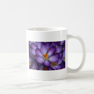 Ramo púrpura del azafrán taza