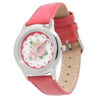Ramo (rojo) relojes de pulsera