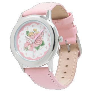 Ramo (rosa) relojes de pulsera