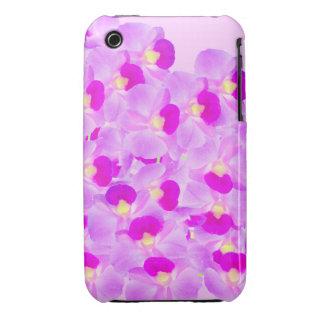 Ramo rosado de la orquídea iPhone 3 fundas