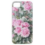 Ramo rosado de los rosas del vintage iPhone 5 Case-Mate coberturas