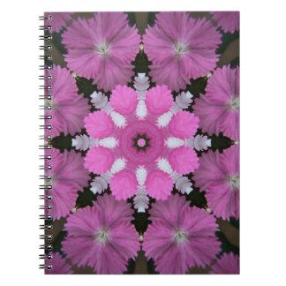 Ramo rosado minúsculo cuaderno