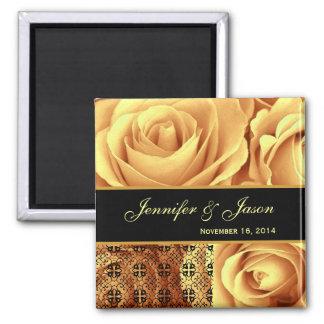 Ramo subió boda del oro con el cordón imán cuadrado