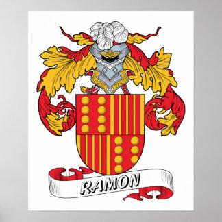 Ramon Family Crest Poster