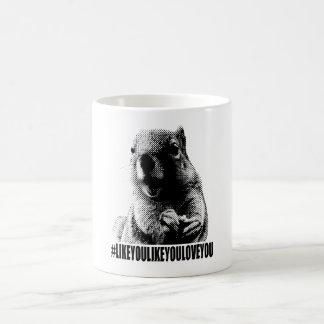 Ramón la taza de Hashtag de la ardilla