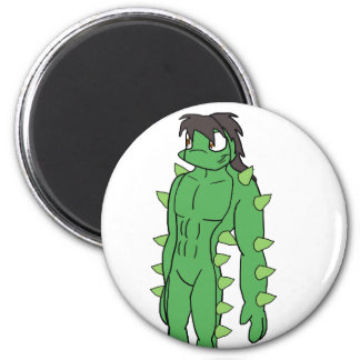Ramon the Anthro Cactus Refrigerator Magnets