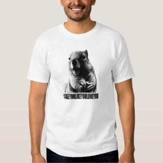 Ramon The Squirrel Hashtag Light T-Shirt