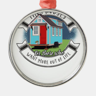 ramon - tiny house metal ornament