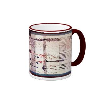 Ramon Y Cajal Ringer Coffee Mug