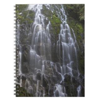Ramona cae en el condado de Clackamas, Oregon Cuaderno