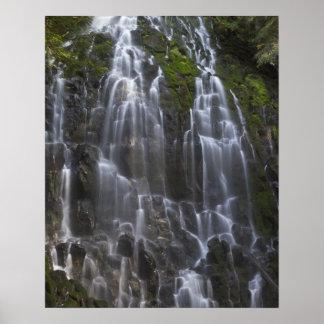 Ramona cae en el condado de Clackamas, Oregon Posters