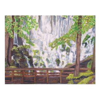 Ramona Falls, Oregon - Postcard