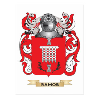 Ramos Coat of Arms (Family Crest) Postcard