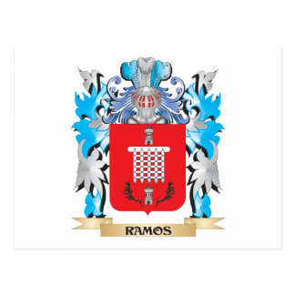 Ramos Coat of Arms - Family Crest Postcard