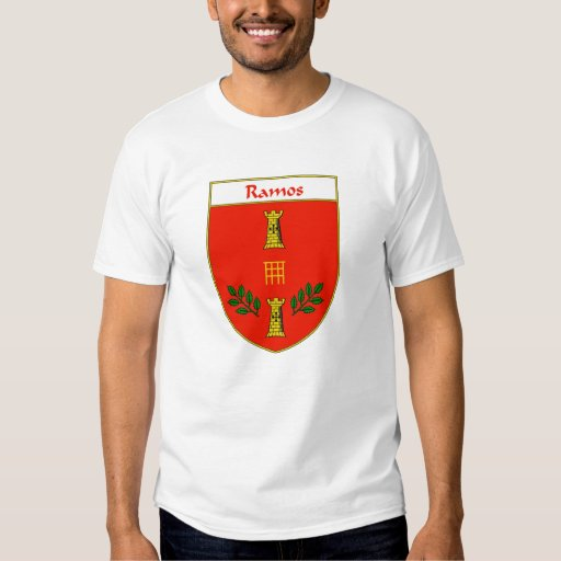 Ramos Coat of Arms/Family Crest T Shirts
