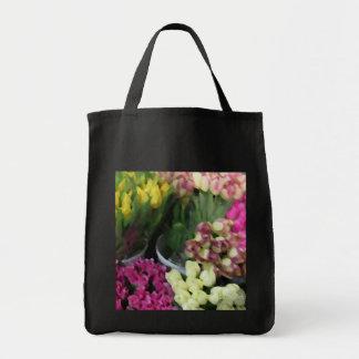 Ramos de los tulipanes bolsas