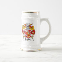 Ramos Family Crest Beer Stein