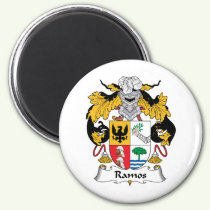 Ramos Family Crest Magnet