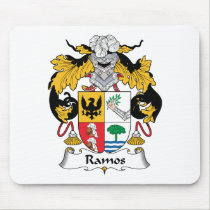 Ramos Family Crest Mousepad
