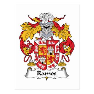 Ramos Family Crest Postcard