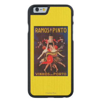 Ramos Pinto Vintage PosterEurope Carved® Maple iPhone 6 Slim Case
