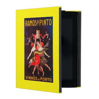 Ramos Pinto Vintage PosterEurope iPad Folio Cases
