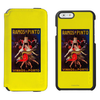 Ramos Pinto Vintage PosterEurope iPhone 6/6s Wallet Case