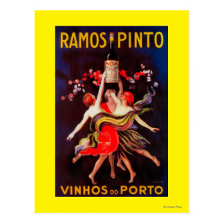 Ramos Pinto Vintage PosterEurope Postcard