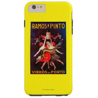 Ramos Pinto Vintage PosterEurope Tough iPhone 6 Plus Case