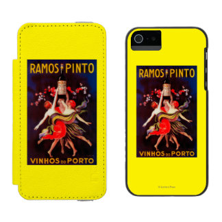 Ramos Pinto Vintage PosterEurope Wallet Case For iPhone SE/5/5s
