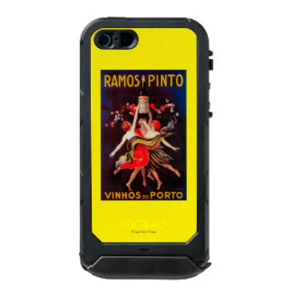 Ramos Pinto Vintage PosterEurope Waterproof Case For iPhone SE/5/5s