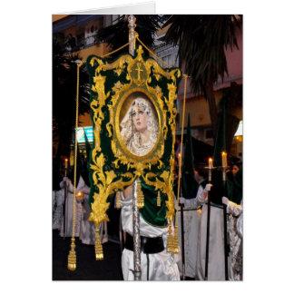 Ramos santo Domingo de Maria de la madre Tarjeta